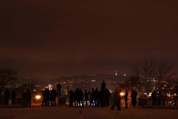 New Year Prague
