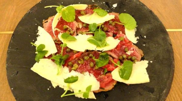 Chop House Market Street - Beef Carpaccio
