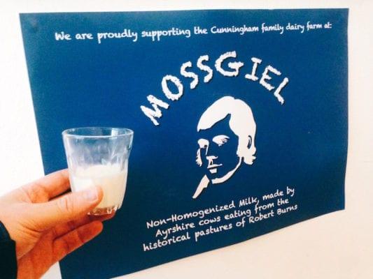 Walking food tour: McCune Smith supports Mosgiel farm