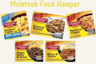 Win a Mcintosh Foods food hamper