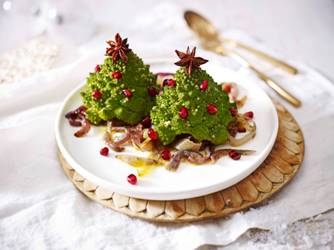 Waitrose Christmas tree caulieflower