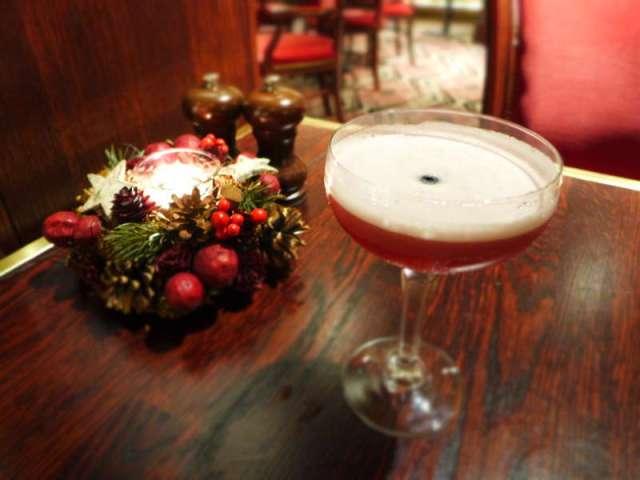 Boclair House - clover club cocktail