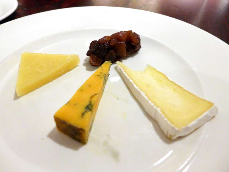 Boclair House - cheese course