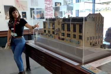 Mackintosh GSA tour - model building