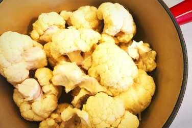 Creamed cauliflower recipe