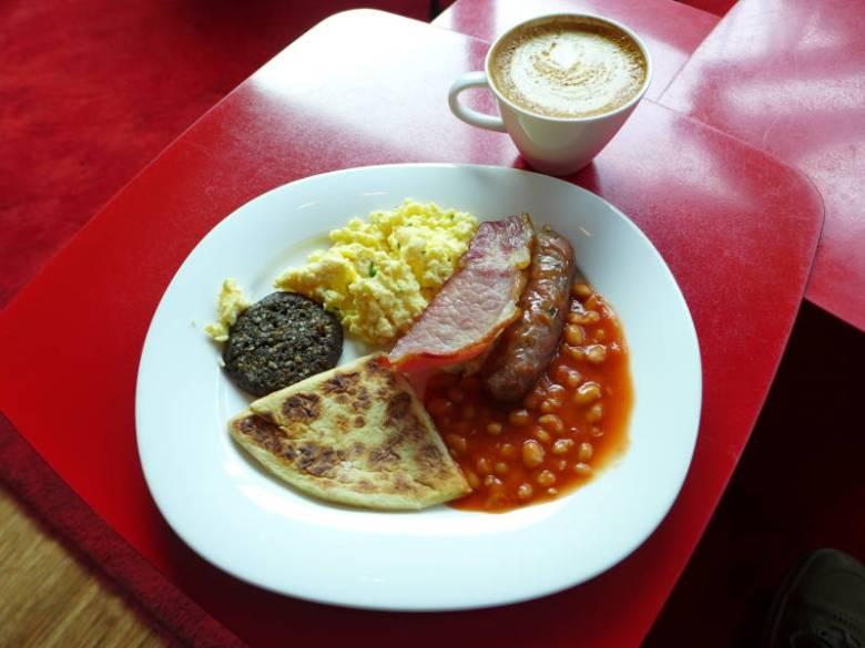 CitizenM Glasgow - my breakfast