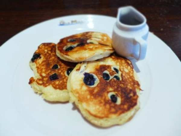 Old Mill Inn, Pitlochry - Blueberry pancakes