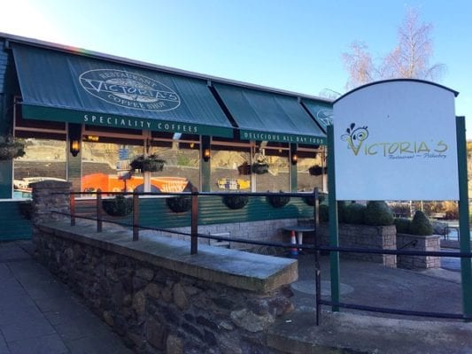 Victoria's Pitlochry cafe