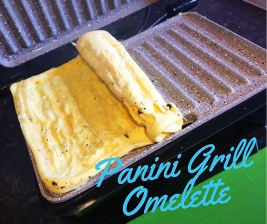 Recipe: Panini Grill Omelette