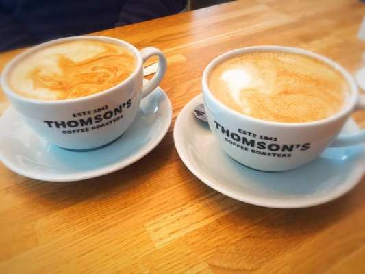 thomsons coffee Millbrae hill cafe battlefield Southside glasgow