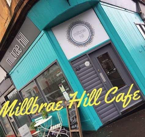 Millbrae hill cafe battlefield Southside glasgow