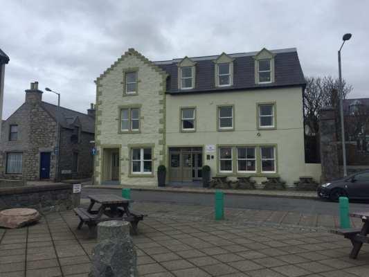 Scalloway hotel Scotland Scottish staycation holiday