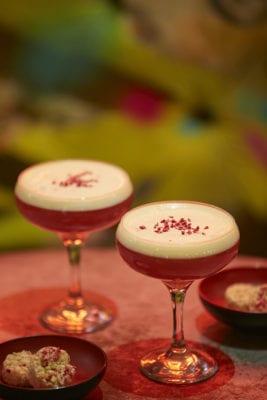 French martini bar soba