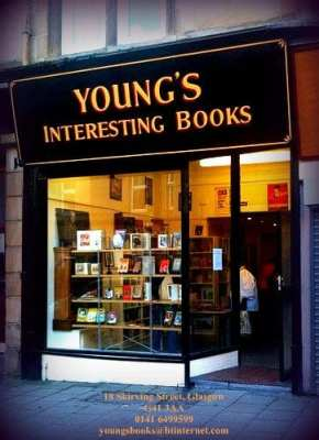 Young's interesting books Shawlands Southside glasgow