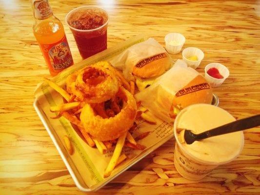 BurgerFi London review burger