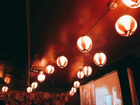 Ramen Dayo - Japanese paper lanterns
