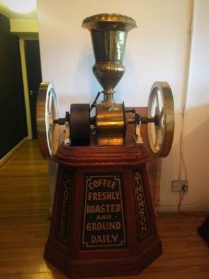 thomsons coffee old grinder