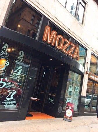 Mozza pizza glasgow
