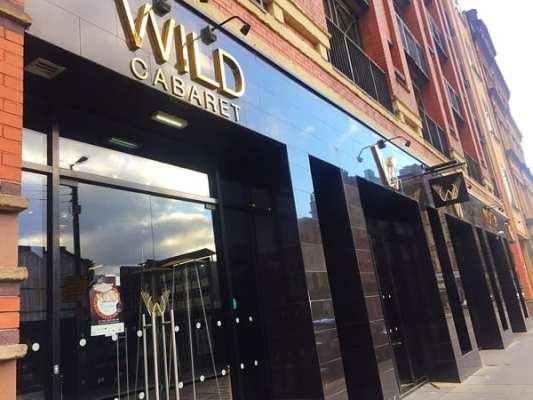 Wild cabaret glasgow Outside