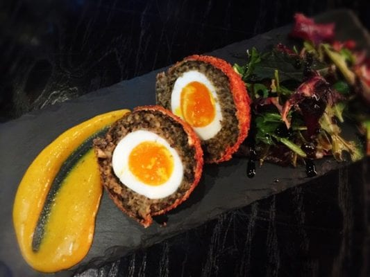 Wild cabaret glasgow Scotch egg