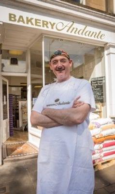 Bakery Andante Waitrose Edinburgh