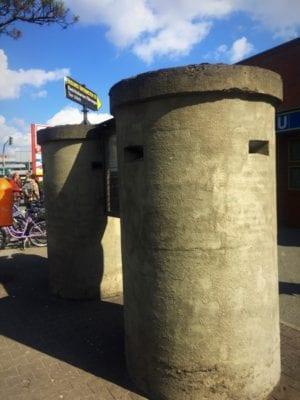 Glasgow food travel blog Berlin Untervelten humboldthain bunker tour