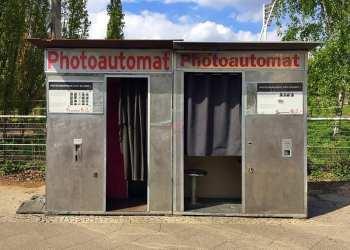 Glasgow food travel blog Berlin photoautomat