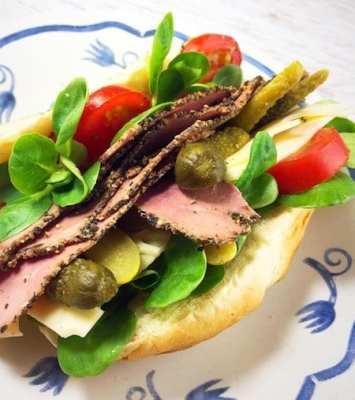 Reuban Sandwich 2