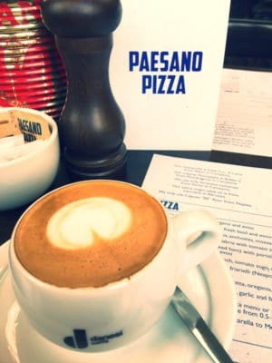 paesano pizza glasgow food blog foodie explorers coffee