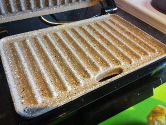 panini grill after omelette