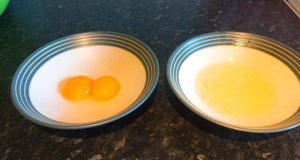 glasgow food blog Cloud Egg Recipe Instructions Step 3