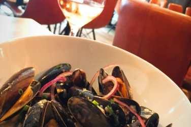 The wee restaurant Shetland mussels Edinburgh