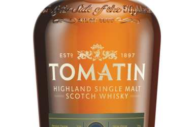 Tomatin whisky bottle