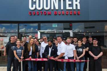 The counter burger glasgow