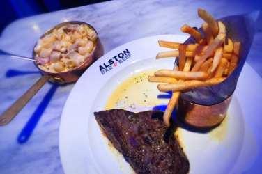 Alston Bar and beef glasgow steak chips