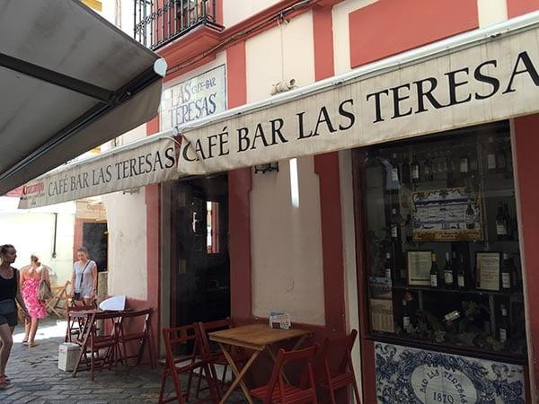 Las Teresas from outside, Seville