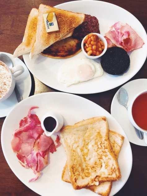 Greens coffee house Shawlands Southside glasgow breakfast