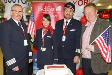 Norwegian airline Belfast to New York and Boston