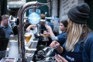 Heverlee beer Edinburgh arches the Pitt