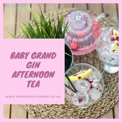 Boe Gin baby Grand afternoon tea