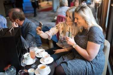 Hilton Glasgow Grosvenor Terrace Afternoon Tea Champagne Cocktail Bar