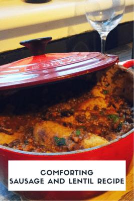 Mor sausages lentil recipe