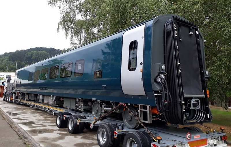News: New Caledonian Sleeper trains put through tests