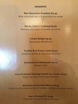 Number 10 hotel restaurant Southside glasgow food Review
