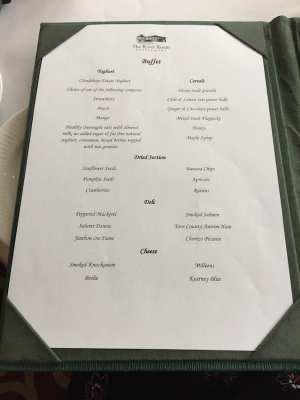 GalgormResort_.menu breakfast