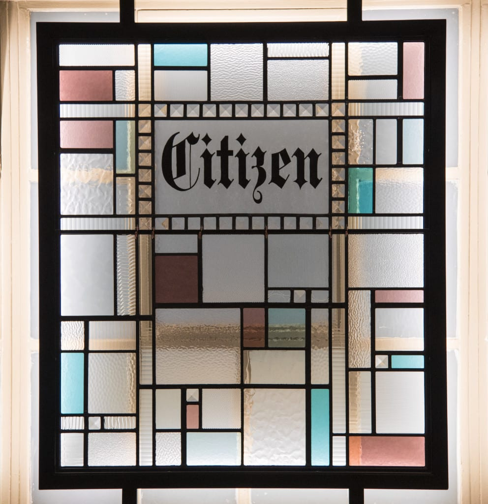 The citizen glasgow menu