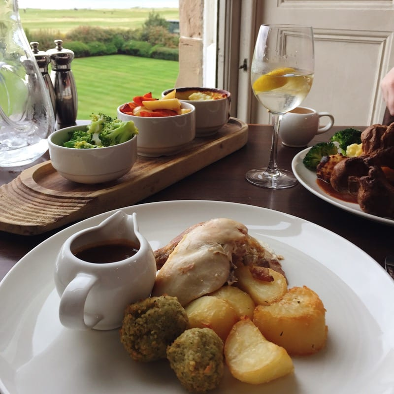 Macdonald Marine hotel & spa north berwick sunday lunch