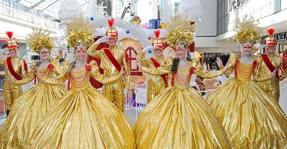 Glasgow style mile carnival  Christmas