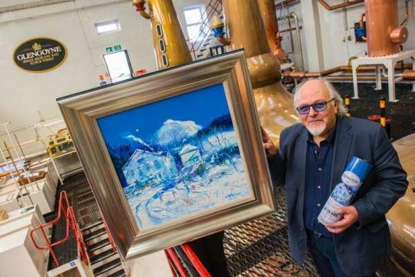 John Lowrie Morrison artist Glengoyne whisky limited edition