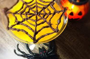 Spooky spider Halloween jelly